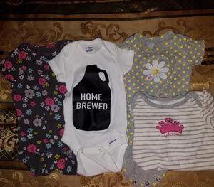 Infant girl onesies
